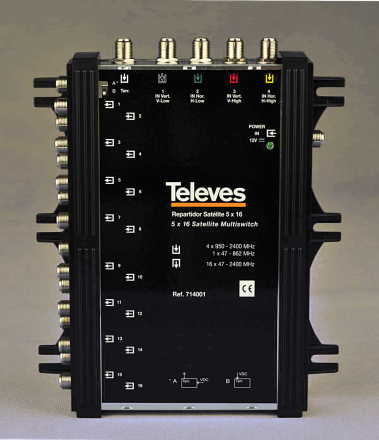 Multiswitch Televes 5/16 714001