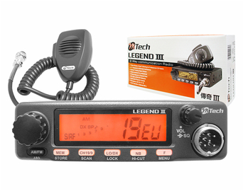 Radio CB LEGEND 3 M-TECH AM/FM-ASC