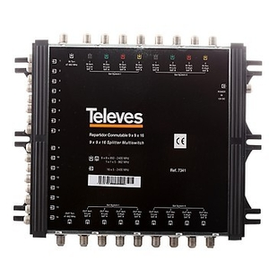 Multiswitch Televes 9/16 743902