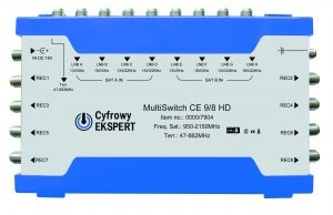 Multiswitch Cyfrowy Expert 9/ 8 HD
