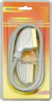 Kabel Euro-Euro 21 PIN 1,5m GOLD HQ