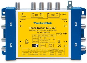 Multiswitch TechniSat 5/8G2 DC-NT