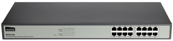 SWITCH NETIS 16-PORT ST3116 100MB RACK  8914