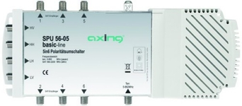 Multiswitch AXING 5/ 6 SPU56-05 pas