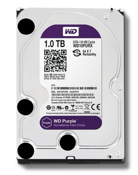 "HDD WD3.5"" 1TB 7200 SATAIII 64MB PURPLE"