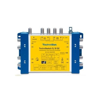 Multiswitch TechniSat 5/8G2 DC-NT+Z