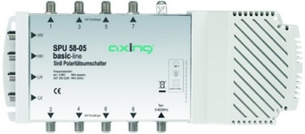 Multiswitch AXING 5/ 8 SPU58-05 pas