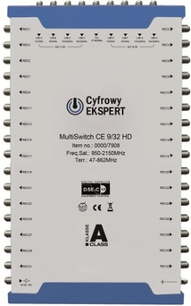 Multiswitch Cyfrowy Expert 9/32 HD