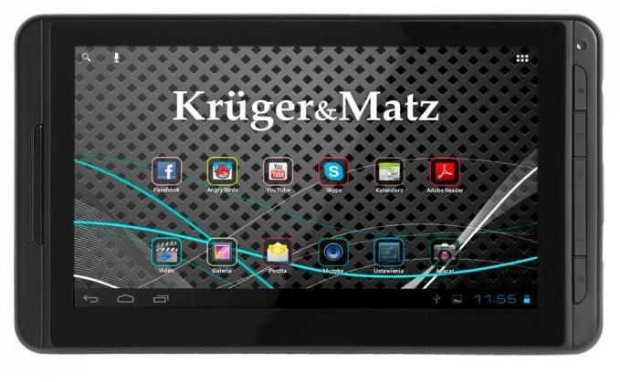 "Tablet PC 7"" Kruger&Matz 4GB WiFi"
